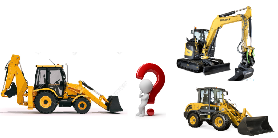 buldoexcavator sau excavator cu incarcato